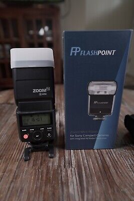 Flashpoint Zoom-Mini TTL R2 Flash for Sony Compact Cameras