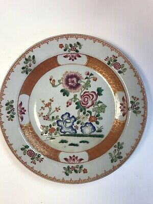 Antique Chinese Porcelain Plate Beautiful