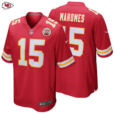 NWT Patrick Mahomes #15 Kansas City Chiefs Red Stitched Men's Jersey