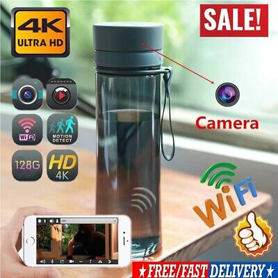 WiFi 1080P HD Sports Water Bottle Hidden Spy Camera Video Recorder Cup Acces New