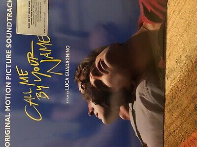 Call Me By Your Name Peach Colored Vinyl 2 LP