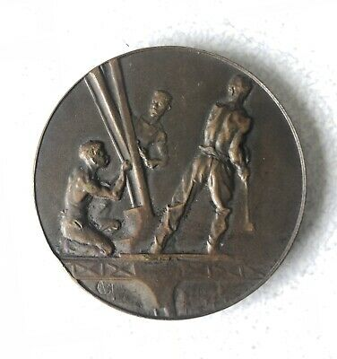 1889 France /Eiffel Tower Ascention Medal
