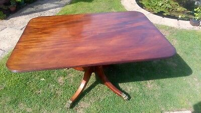 antique dining table Period Regency/ Georgian  ORIGINAL