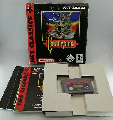 Castlevania NES Classics for Nintendo Game Boy Advance GBA BOXED with PROTECTOR