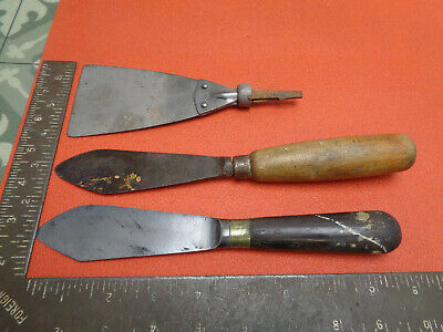 Vintage putty knives Nurse and other LOTDTP2MWS
