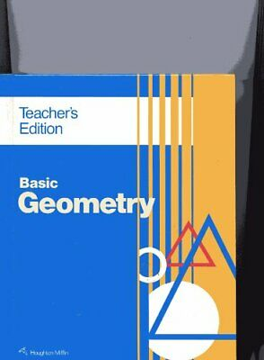 BASIC GEOMETRY - TEACHER EDITION By Richard G. Brown - Hardcover Mint Condition