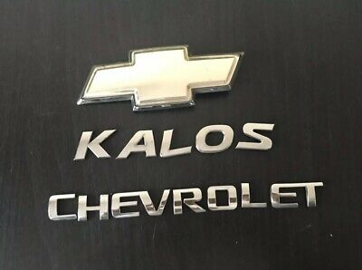 Chevrolet Kalos Rear Letters Badge Logo Emblem (B5)
