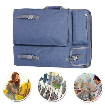Thickened Widened Portable Art Backpack Drawing Board Travel Sketch Bag Artist