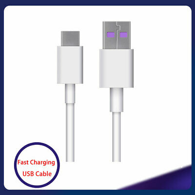 Fast Charging USB Cable 5A Super Charge USB Type C For Phone Mate 10 20P10 Lite