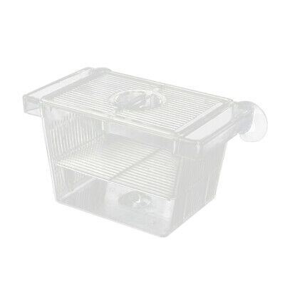 Aquarium Fish Tank Clear Fish Breeding Isolation Box Breeder Hatching Incubator