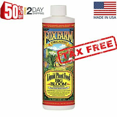 Fox Farm Big Bloom Liquid Concentrate Fertilizer 1-Pint