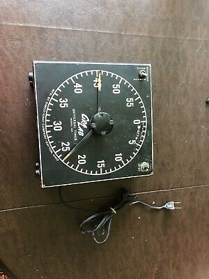 Vintage GraLab Universal Timer for Photography Model 168 by Dimco - Gray Co.