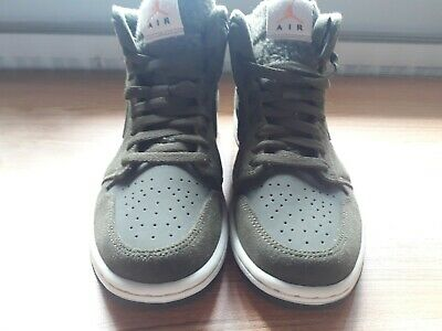 low priced competitive price buying cheap NIKE AIR JORDAN 1 Mid Olive Canvas Gr. 40,5 NEU!! - EUR 23 ...