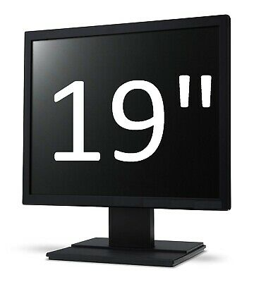 """Cheap 19"""" inch Monitor TFT for computer, CCTV any Brand or model Home,Office"""