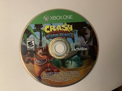 Crash Bandicoot N. Sane Trilogy - Xbox One 1 Tested Disc Only