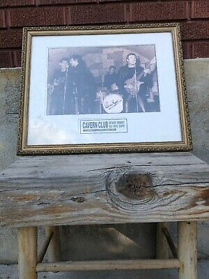 The Beatles Limited Ed. Pete Best Pic #1660/10,000 @ Cavern Club May 1994 Signed