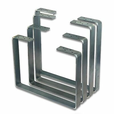 2x Bench Set Legs Industrial Designer Metal Steel Bench/Coffee Table/Side Table