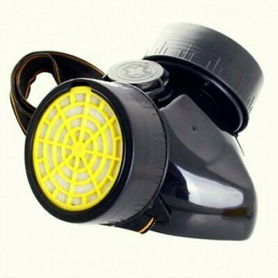 Dual Cartridge Respirator Dust Mask | Anti-Dust | Chemical | Gas | Paint Filter