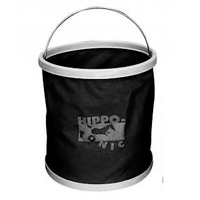 Hippo-Tonic Foldaway Bucket 9 Litre Camping Collapsible Carry Fishing Equestrian