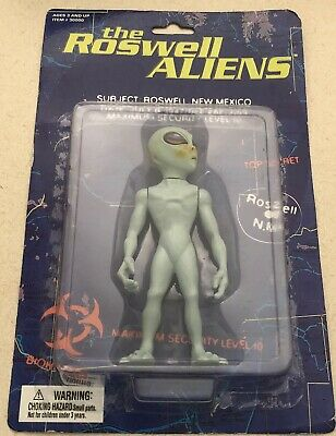 THE ROSWELL ALIENS TOY 1996 Extra Terrestrial COLLECTIBLE FIGURINE Street Player