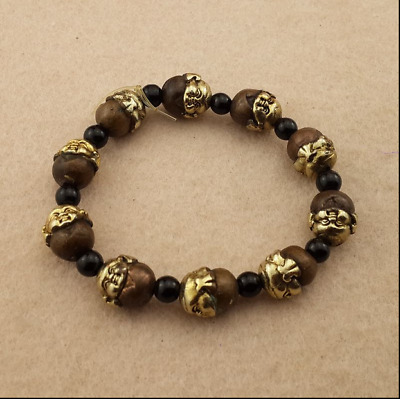 Ancient China  Hand - made  Red copper  The gilt  The lucky boy  Bracelet
