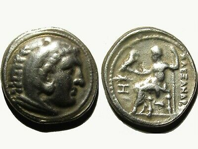 Rare Greek Silver Tetradrachm Of Alexander Iii The Great - (336-323) Bc