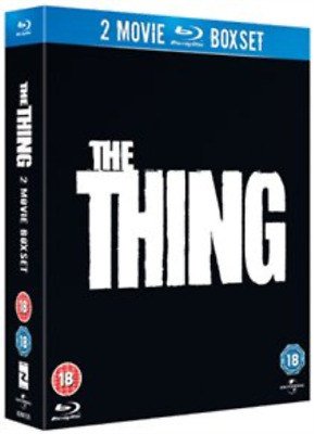 Kurt Russell, Wilford Brimley-Thing (1982)/The Thing (2011) Blu-ray NEUF
