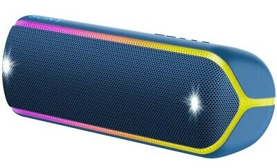 Sony SRS-XB32/L Extra Bass Wireless Portable Bluetooth Speaker, XB32 (Blue) TEAL