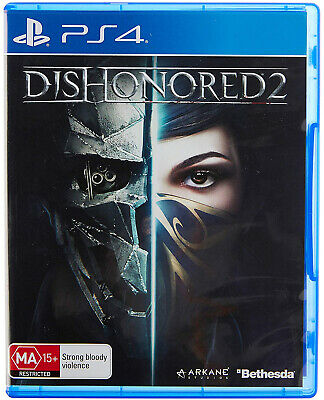Dishonored 2 PS4 Playstation 4 BRAND NEW FAST FREE SHIPPING Dishonoured