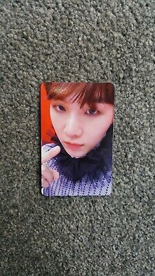 BTS Official Love Yourself Answer S Suga Photocard UK Seller Yoongi