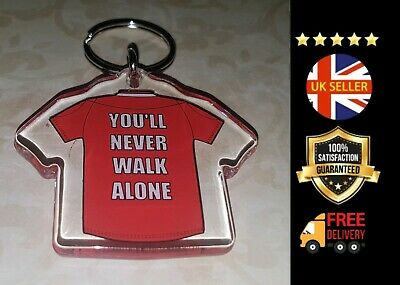 Liverpool Fc Lfc You'll Never Walk Alone Football Keyring Premier League