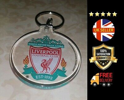 Liverpool Lfc Crest Double Sided Anfield Kop Football Keyring Premier League