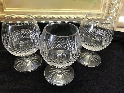 """3 ea Galway Claddagh Brandy Snifters 5"""""""