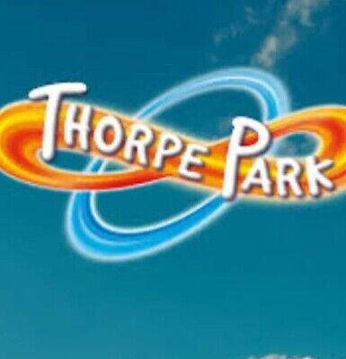 X2 Thorpe Park E-tickets Bank Holiday Monday 26th Aug 2019