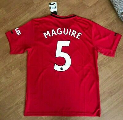 Manchester United Mens Home Shirt 2019/20 • Harry Maguire No.5 • BNWT •