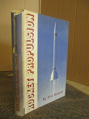 Eric Burgess 1952 Rocket Propulsion Interplanetary Flight Travel Idea Missiles
