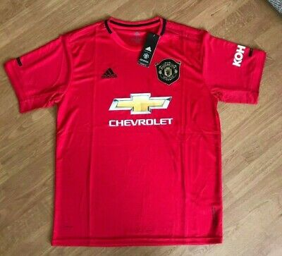 Manchester United Mens Home Shirt • 2019/20  • BNWT •