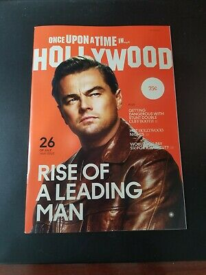 "Once Upon a Time In Hollywood RARE Premiere Magazine ""Rise Of A Leading Man"""