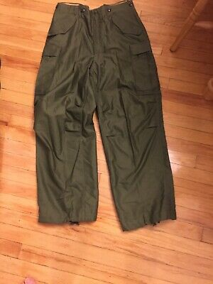 RARE US Army Trousers Pants WWII WW2 m -1951 regular small 1952 dated