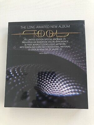 Tool Fear Inoculum CD Deluxe Edition Limited Tri Fold + HD Screen
