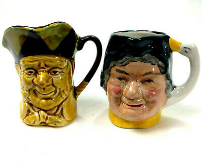 Two Vintage CHARACTER JUGS