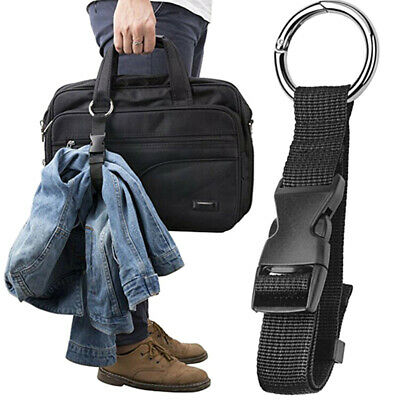 Anti-theft Luggage Strap Holder Gripper Add Bag Handbag Clip Use to Carry D0