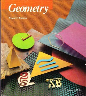 GEOMETRY, TEACHER'S EDITION By Richard G. Brown - Hardcover Excellent Condition