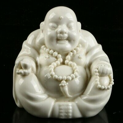 Chinese Dehua Porcelain Sculpture   Hand carved   Buddhism Statue  MC53