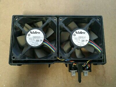 Used Dell Poweredge T610 Dual Case Cooling Fan Tested 0GY676 xv