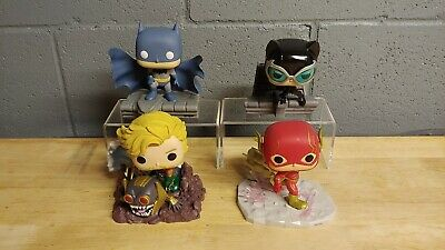 Funko POP Jim Lee Deluxe Batman Catwoman Flash Aquaman