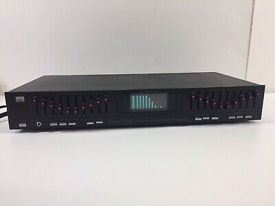ADC SS-300 SL Sound Shaper. ADC Stereo Frequency Equalizer Tested Works