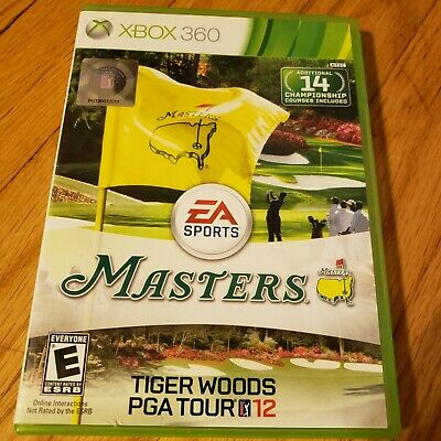 Tiger Woods PGA Tour 12: The Masters Microsoft Xbox 360