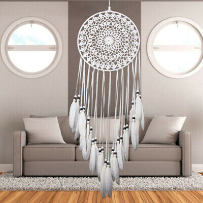 Feathers Dreamcatcher Handmade Dream Catcher Craft Wall Hanging Decor_