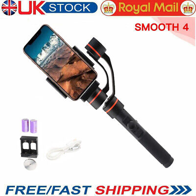 Smooth 4 Handheld 3-Axis Smartphone Gimbal Stabilizer for iPhone HUAWEI Samsung